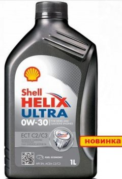 Моторное масло Shell Ultra ECT C2/C3 0W30 1л